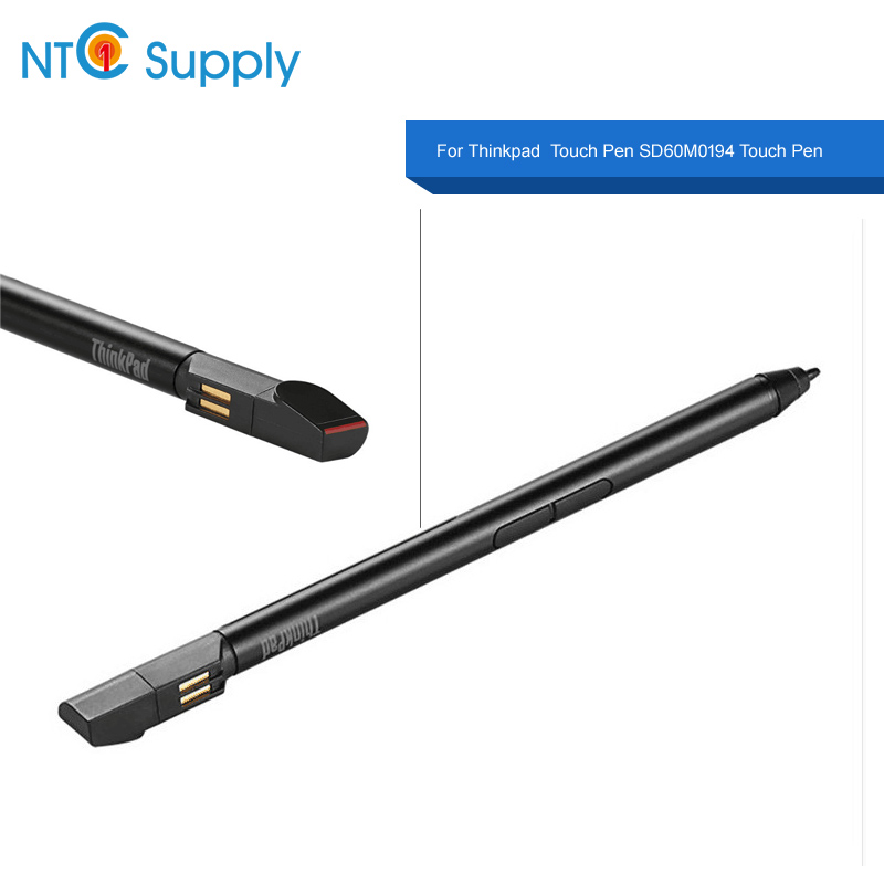 NTC Supply for New Original ActPen For Lenovo Thinkpad Pen pro P/N 00HN897 4X80K32539 SD60M0194 Touch Pen • Lenovo PN Part #: P/N 00HN897 4X80K32539 SD60M0194 Product Specification : Condition: Brand NEW A Packing : Antistatic bag and Box Description : Touch screen assembly replacement